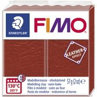 FIMO Leder-Effekt rost