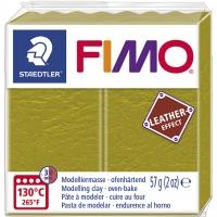 FIMO Leder-Effekt olive