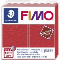 FIMO Leder-Effekt wassermelone