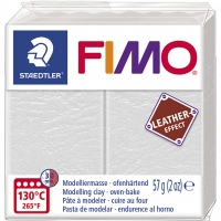 FIMO Leder-Effekt elfenbein