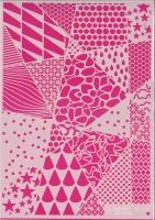 Pronty Mask Stencil A4 Geometric backgrounds