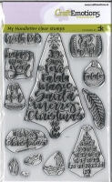 My Handletter Clear Stamps - Christmas 1