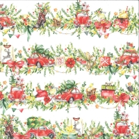 Scrapbooking papier Piatek 13 - Paper Christmas treats 02