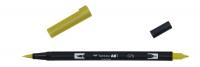 Tombow ABT Dual Brush Pen - green ochre