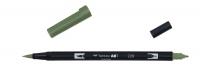 Tombow ABT Dual Brush Pen - grey green