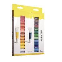 Künstler-Set Acrylfarben 24 Farben