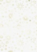 Transparentpapier Stardust  gold 50x70cm
