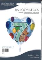 Folienballon Bär 7