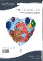 Folienballon Bär 8
