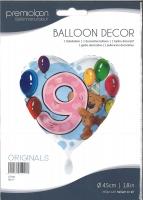 Folienballon Bär 9