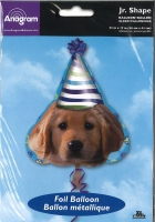 Folienballon Geburtstagshund