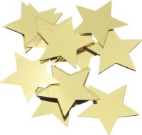 Aluflitter Sterne Ø 30 mm goldfarben
