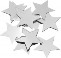 Aluflitter Sterne Ø 30 mm silberfarben