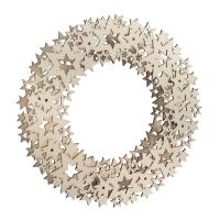 Holz-Ornamentkranz Stern