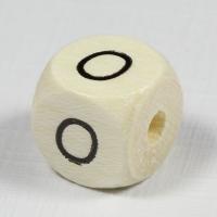 Holz-Buchstabenperle O