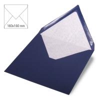 Kuvert quadratisch 16cm x 16cm nachtblau