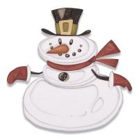 Sizzix Thinlits Die Set 11PK - Mr. Snowman, Colorize™