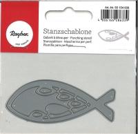 Stanzschablone Fisch