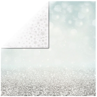 Scrapbookingpapier Let it snow - Shimmering