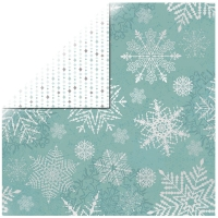Scrapbookingpapier Let it snow - Falling Snowflakes