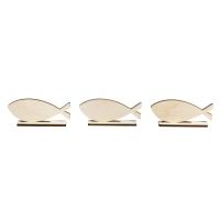 Holzmotiv Fische zum Stellen