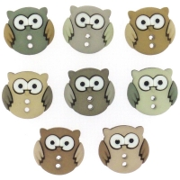 Dress it up Deko-Knöpfe - Sew Cute Owls