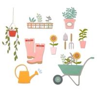 Sizzix Thinlits Die Set 23PK – Garden Shed