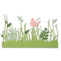 Sizzix Thinlits Die Set 4PK - Springtime Borders