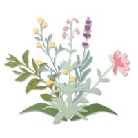 Sizzix Thinlits Die Set 8PK - Spring Stems