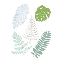 Sizzix Thinlits Die Set 5PK Large Tropicals