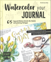 Watercolor your Journal