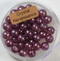 Crystal Renaissance Perlen 6mm hell lila