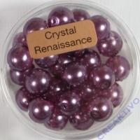 Crystal Renaissance Perlen 8mm hell lila