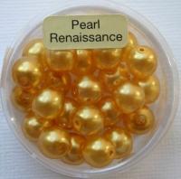 Crystal Renaissance Perlen 8mm gelb