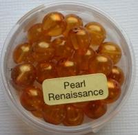 Crystal Renaissance Perlen 8mm topas