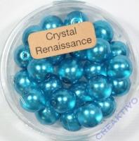 Crystal Renaissance Perlen 8mm türkis
