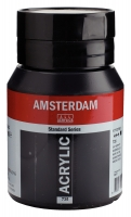 Amsterdam Acrylic Standard Series 500ml - oxidschwarz