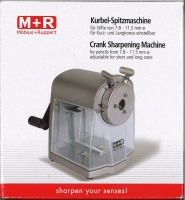 M+R Kurbel-Spitzmaschine - Vorführgerät
