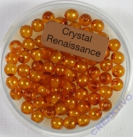 Crystal Renaissance Perlen 4mm topas