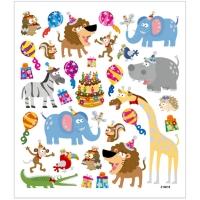 Sticker Tier-Geburtstag