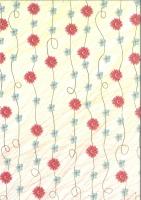 Transparentpapier Blütenzauber Motiv 03