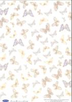 Transparentpapier Schmetterlinge