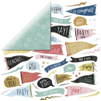 Scrapbookingpapier Oh Happy Day - Time to Party P2892