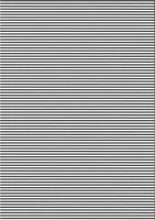 Streifen-Fotokarton DIN A4 schwarz
