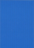 Pünktchen-Fotokarton DIN A4 dunkelblau