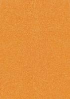 Glitterkarton A4 orange neon