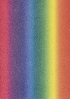 Glitterkarton A4 Regenbogen