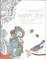 Happy Zen - 50 Motiv zum Ausmalen