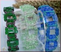 Pracht - Armband aus Glaswürfeln (Download)
