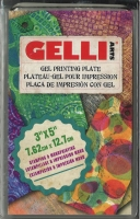 GELLI Arts Gel Printing Plate 3 x 5 7,62cm x 12,7cm
